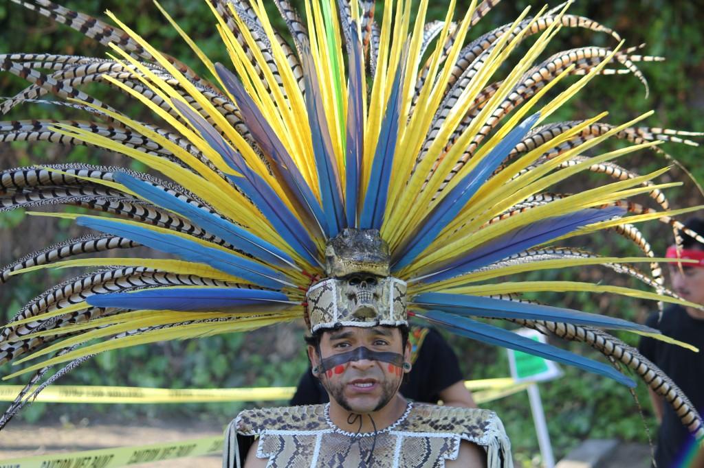 Aztec Dancer front view